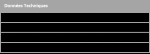 données technique de la rotissoire
