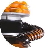 conduit hermétique contre les moucherons de la machine à presse agrumes jus d'orange presse agrumes