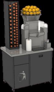 jus d'orange professionnel presse agrume meuble Proxi plus petit chargement bouteil